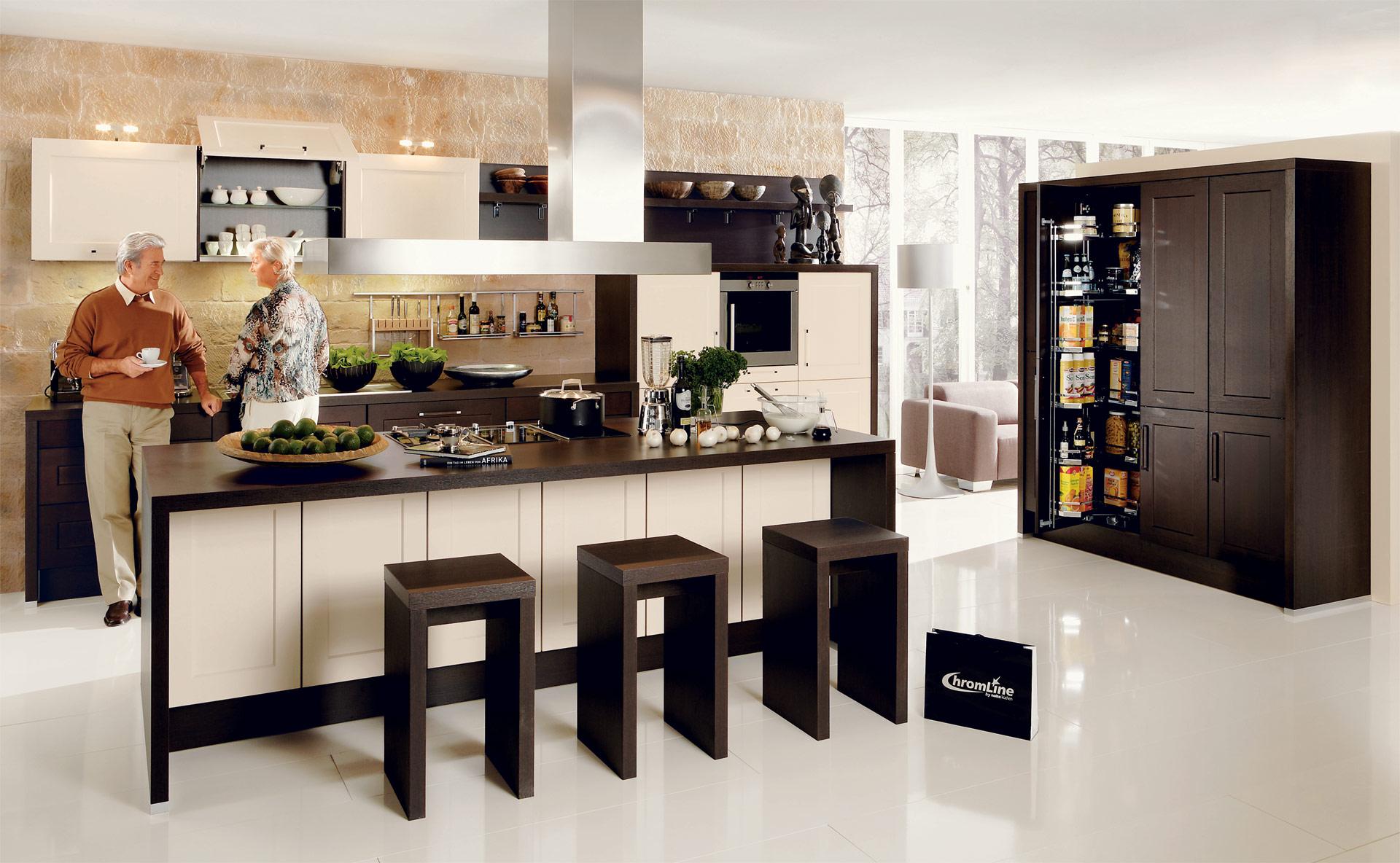 high wood nolte classic. Black Bedroom Furniture Sets. Home Design Ideas